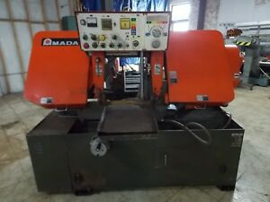 Amada Ha 400w Automatic Horizontal Band Saw