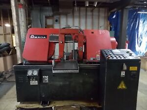 Amada Hfa400w Programable Automatic Horizontal Band Saw