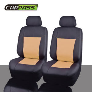 Car Pass Waterproof Oxford Universal Fit For Vehicles 2front Car Seat Covers