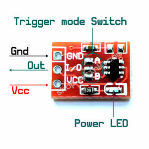 Ttp223 Capacitive Touch Key Module 4 lock Settable Mode Switch Board