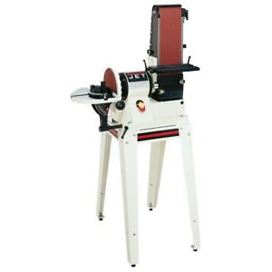 Jet-708596K JSG-96OS 6 In. x 48 In. Belt  9 In. Disc Sander with Open Stand