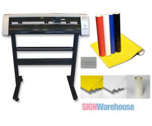 31 Vinyl Cutter Machine W software Vinly Sign Plotter Great Starter Bundle Kit