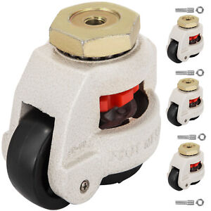 Gd 80s Set Of 4 Leveling Casters Precise Instruments Footmaster Caster Flexible