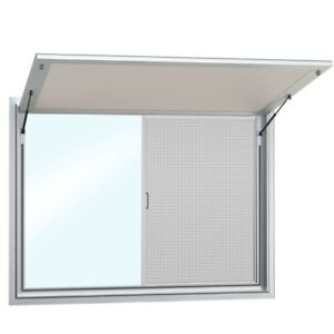 Concession Stand Trailer Serving Window With Awning Cover 2 Window 48 X 36