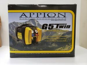 New Appion G5 Twin Cylinder Refrigerant Recovery Unit Machine 115v