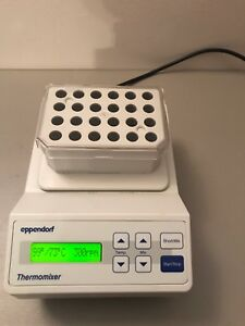 Eppendorf Thermomixer Shaker Incubator Block Thermo Mixer 1 5 Ml Tested Working