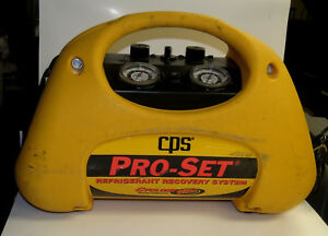 Cps Pro set Model Cr 700 Refrigerant Recovery Machine