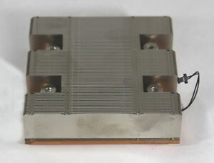 Apple 076 1342 Genuine Aluminum Heatsink Lga 1366 socket B