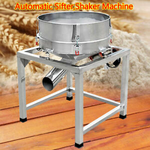 Shaker Machine Electric Stainless Steel Vibration Sieve Machine Food Processing