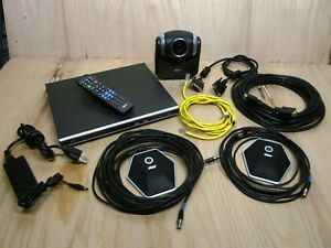 Aver Hvc310 Ptz 720p Hd Video Conference System With Mic s And Cables See Images