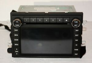 2011 Ford Expedition Gps Navigation Unit Cd Player Satellite Radio Receiver Oem