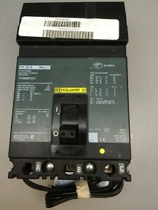 Square D Fh360201021 Fh20a 600v 20amp Circuit Breaker New Green Label