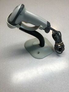 Symbol Ls2208 Barcode Scanner Usb With Gooseneck Stand