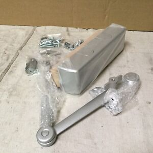 Yale Door Closer 12 1 4 L Aluminum 180 Deg 5831t X 689 Silver