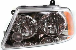 Headlight For 2004 2006 Lincoln Navigator Driver Side W Bulb