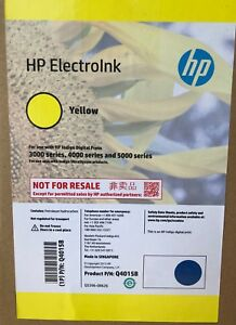 Hp Indigo Ink Yellow Electroink For Series 3000 4000 5000