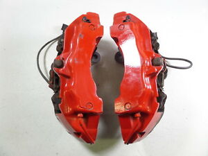 03 06 Porsche Cayenne Turbo 955 Oem 99k 6pot Front Brembo Brake Calipers Pair
