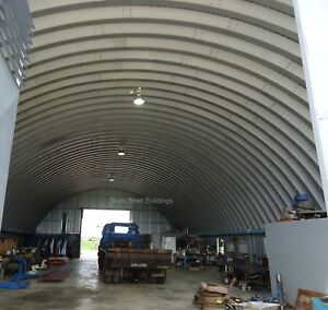 Durospan Steel 40x60x15 Metal Building Ag Maintenance Salt Shed Factory Direct
