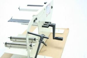Take a label 11000 Tal 1100mr Manual Round Product Label Applicator Easy To Use
