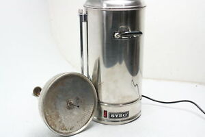 Sybo Commercial Grade Stainless Steel Coffee Maker Hot Water Etl Certified