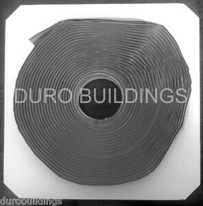Duro Steel 6 40 Rolls 240 Double Bead Butyl 3 16 x7 8 For Arch Bin Buildings