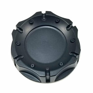 American Racing Black 4 1 4 Od Snap In Wheel Center Hub Cap Plain