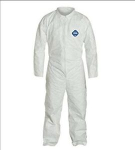 Box Of Tyvek Coveralls Dupont 25 Per Box Size Large And Extra Large