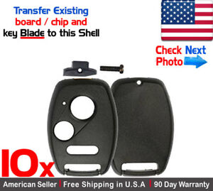 Honda Key Shell In Stock | Replacement Auto Auto Parts Ready