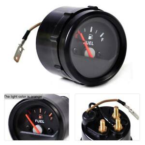 2 52mm Universal Mechanical Motorcycle Fuel Level Gauge Meter E 1 2 f Pointer