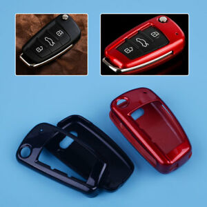 Abs Remote Car Key Shell Case Cover Protection For Audi A1 A3 A4 A5 A6