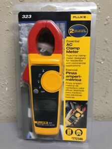 Fluke 323 True Rms Ac Clamp Meter 772346 new