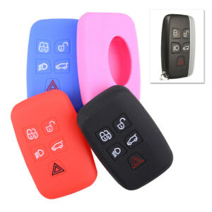 Silicone Remote Key Cover Fob Case For Land Rover Discovery 4 Range Rover Sport