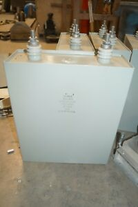 Cde Lpcn415 190 0 Mfd 4000v High Voltage 1500 Joules Capacitor