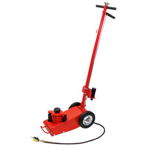 35 Ton Air Hydraulic Floor Jack Lift Wheels Truck Bus Shop Equipment Bottle Jack
