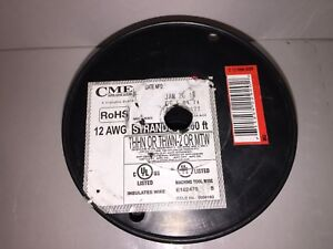 Cme Wire Cable 500 12 Awg Stranded Thhn Or Thwn 2 Or Mtw 600v Copper Wire