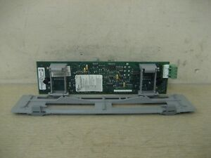 Edwards Est 3 pps m 2990108 Fire Alarm Power Supply Monitor Module Board Used