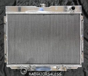 3 Row Aluminum Radiator 67 68 69 70 Mustang Many Ford Models 24 Wide Core