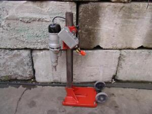 Diamond Products Core Drill Rig Bore 120 Volts Black Decker Works Great 2