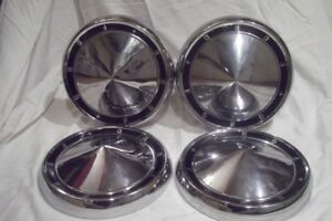 Ford Galaxie starliner dog Dish Hubcaps