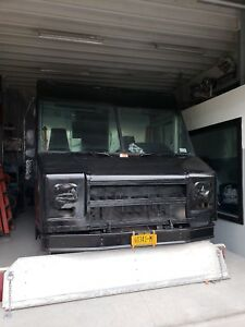 Food Truck For Sale Used black Exterior Plumbing Needs To Be Fixed