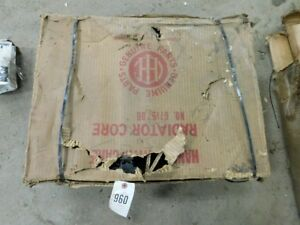 International Harvester Farmall H Tractor Radiator Part 67167db nos Tag 960