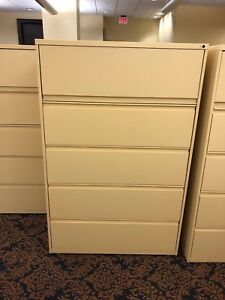 4 Drawer Lateral Size File Cabinet W Storage By Harpers Office Furniture 42 w