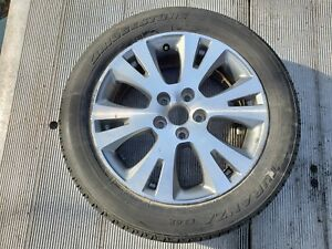 2007 2011 Toyota Camry Wheel Alloy Rim Bridgestone Tire 215 55 17 93h Oem