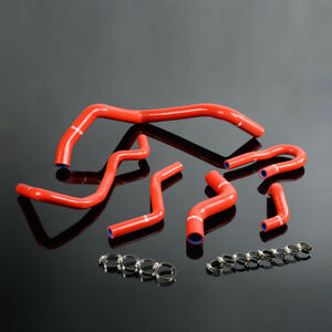 Silicone Radiator Hose Kit For Honda Civic 1 6l Sohc D15 D16 Eg Ek 1992 2000