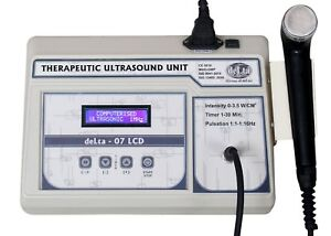New 3 Mhz Ultrasound Therapy Unit Lcd Machine Physiotherapy Ultrasound Dfa