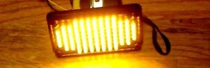 Whelen Edge Ultra 9m Lightbar 400 Series 5mm Led Amber 02 038345831 Tested
