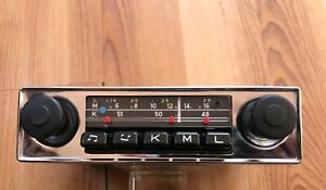 Nos Blaupunkt Bremen Car Radio Mint Cond Porsche 356 Mercedes 190 Many Others