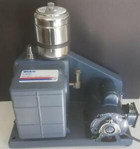 Welch Duoseal 1402 Belt Drive Vacuum Pump With Open Exhaust Filter 6485