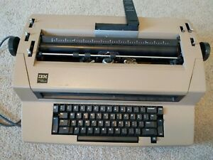 Ibm Selectric Iii 3 Self Correcting Electric Typewriter has Issues Read Desc