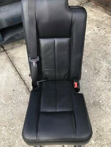2007 2017 Navigator Ford Expedition 2nd Row Middle Jump Center Seat Black
